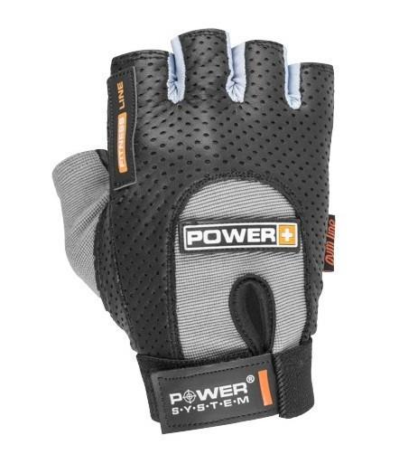 Перчатки для фитнеса и тяжелой атлетики Power System Power Plus PS-2500 M Black/Grey