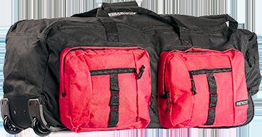 Дорожная сумка со множеством карманов B908