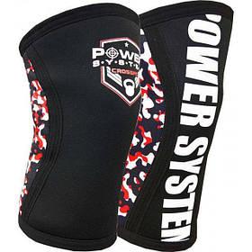 Наколенники для Crossfit Power System Knee Sleeves PS-6030 S/M Black