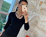 Женский стильный свитер/кофточка с украшением (в расцветках), фото 3