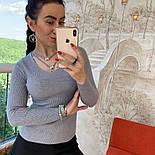 Женский стильный свитер/кофточка с украшением (в расцветках), фото 5