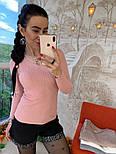 Женский стильный свитер/кофточка с украшением (в расцветках), фото 10