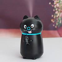 Увлажнитель воздуха humidifier Cat Black, Зволожувач повітря humidifier Black Cat, Увлажнитель воздуха