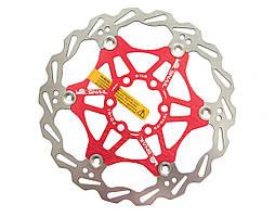 Ротор на пауке SNAIL, плавающий, 160 мм, красный
