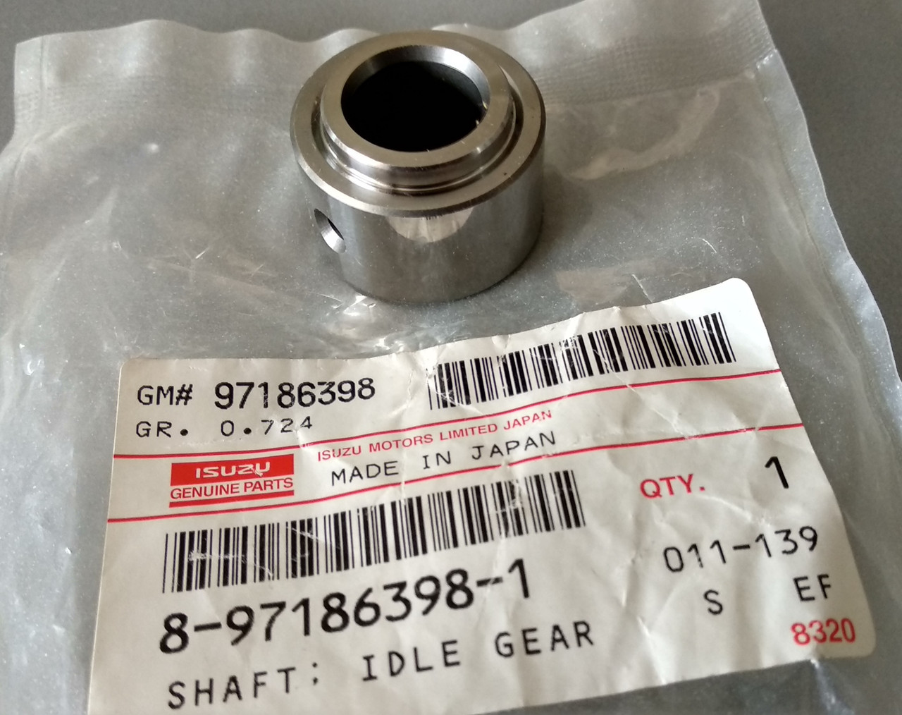 Втулка шестерни ГРМ двигателя Isuzu 8971863981