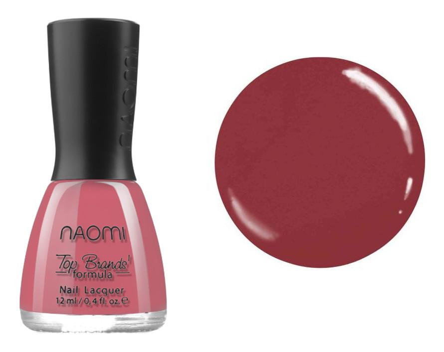 Лак для ногтей №030 Naomi Ягодный темный 12мл
