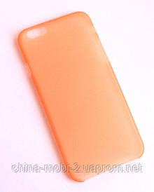Чехол iPhone 6 оранжевый new3