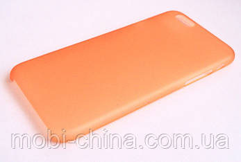 Чехол iPhone 6 оранжевый, фото 2