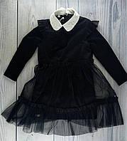 Школьная форма для девочек Пьетра Платье Черный Suzie Украина