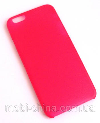 Чехол iPhone 6 красный, фото 2