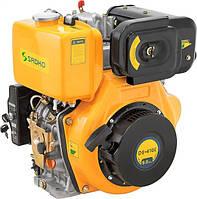 Двигатель дизельный SADKO DE-420МE  (10,0 л.с. электростартер, вал под шлицы)