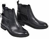Ботинки демисезонные на низком каблучке из натуральной кожи от производителя модель МАК951, фото 3