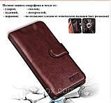 Чехол-книжка для Sharp Aquos S3 FS8032 / D10 (SH-D01) / Стекла / Кожа + ТПУ бампер /, фото 8