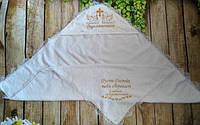 Крыжмы крестильные и полотенца для новорожденных