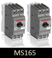 Компактний автоматичний вимикач MS165 для захисту электродвигунів