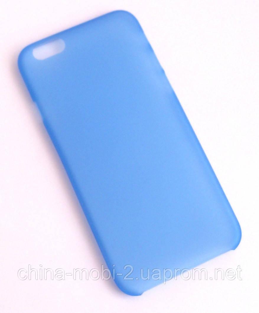 Чехол iPhone 6 синий new