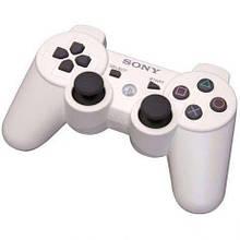 Беспроводной джойстик геймпад Sony PS3 Bluetooth для Sony PlayStation Белый
