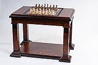 "Шахматный стол 2 в 1 ""Шахматы и нарды"" Люкс"