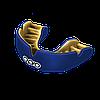 Капа OPRO Power-Fit Single Series Dark Blue/Gold (art.002268005), фото 2