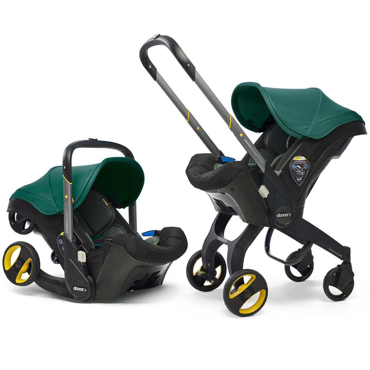Автокресло - коляска Doona Infant Car Seat / racing green (2019)