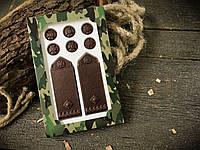 Шоколадные погоны майора для папы
