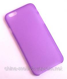 Чехол iPhone 6 фиолетовый new