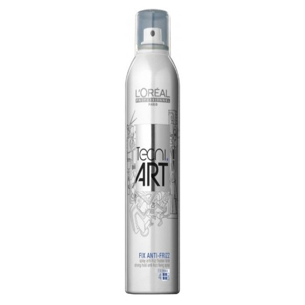 """Лак для волос с эффектом анти-фриз L'Oreal Professionnel """"4"""" Tecni.art 400 мл"""
