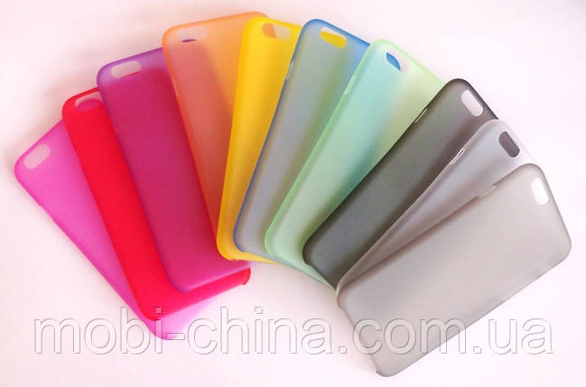 Чехол iPhone 6 серый, фото 2