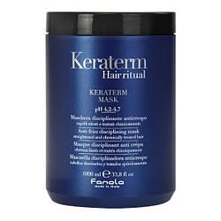 Маска для реконструкции поврежденных волос Fanola Keraterm 1000 мл