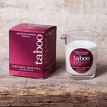 Массажная свеча Massage Candle TABOO Caresses Ardentes