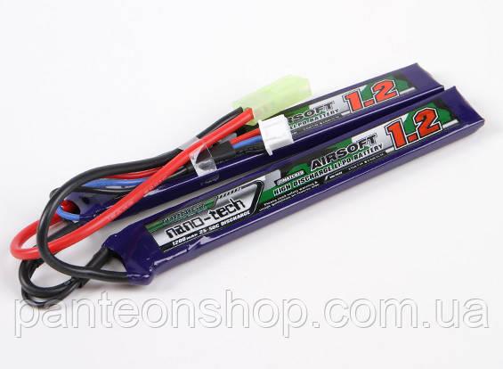 АКБ Turnigy LiPo 7.4v 1200mAh 25-50C нунчаки, фото 2