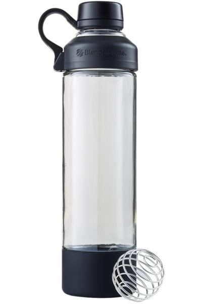 Спортивная бутылка-шейкер BlenderBottle Mantra Glass Black (СКЛО) 600мл (ORIGINAL)