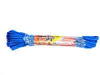 Шнур Дилонг витой полипропиленовый 15м х 5мм цветной