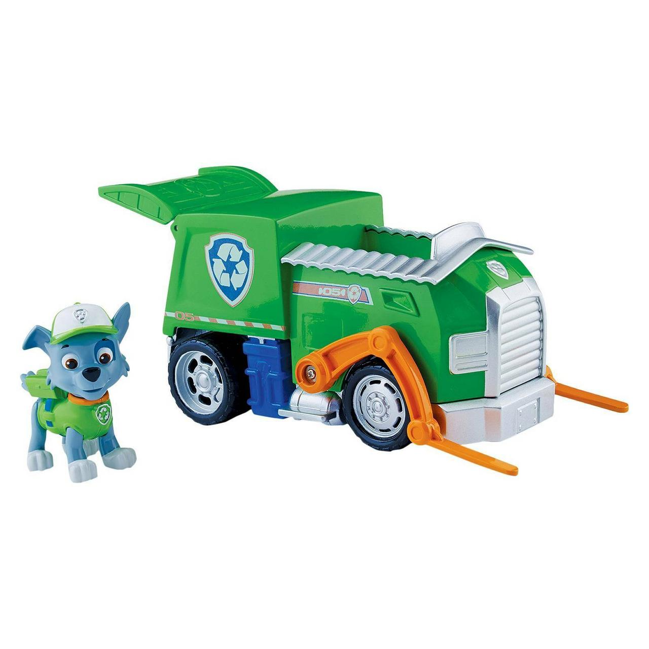 "Спасательный автомобиль Рокки, Spin Master, ""Щенячий Патруль"" - Paw Patrol, Back Opens, Roky`s Recycling Truck"