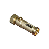 """Расходомер BRV 04654DN15P-28 1"""", 8-28 л/мин, накидная гайка"""