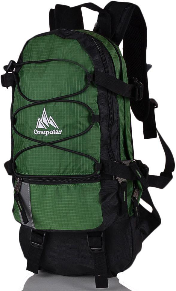 Компактный вело рюкзак 15 л. Onepolar W910-green зеленый