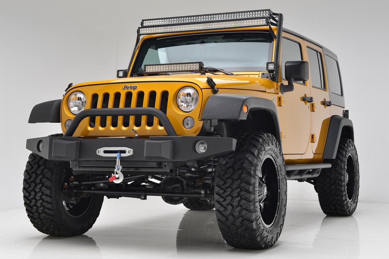 Силовой передний бампер Jeep Wrangler JL