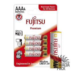 Батарейки FUJITSU Alkaline Premium AAА LR3 (4 шт)