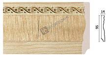 Плінтус підлоговий Арт-Багет 153-5, інтер'єрний декор