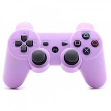 Беспроводной джойстик геймпад Sony PS3 Bluetooth для Sony PlayStation Фиолетовый
