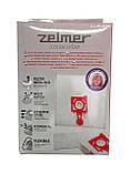 Мешок для пылесоса Zelmer одноразовый (4шт) cod 49.4200, фото 3