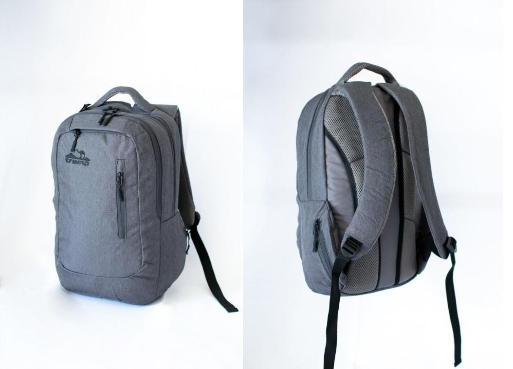 Рюкзак Urby сірий. Городской рюкзак. Рюкзак для міста. Рюкзак для ноутбука