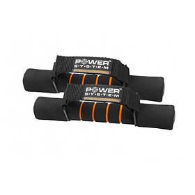 Гантели для фитнеса и аэробики в неопрене Power System Fitness Dumbells 0.5 kg PS-4009 ( 2шт )