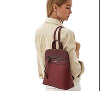 Рюкзак женский бордового цвета DAVID JONES 6110-3, фото 1