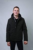 Куртка бомбер Мужская весенне-осенняя демисезонная классика спорт не стеганная