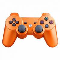 Беспроводной джойстик геймпад Sony PS3 Bluetooth для Sony PlayStation Оранжевый, фото 1
