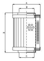 Фильтроэлемент CRH 008, Фильтр MRH 008, MSE 008, Sofima