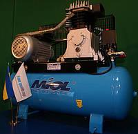 Компрессор воздушный Miol 81-195 клиноременный