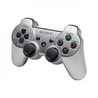 Беспроводной джойстик геймпад Sony PS3 Bluetooth для Sony PlayStation Серебро