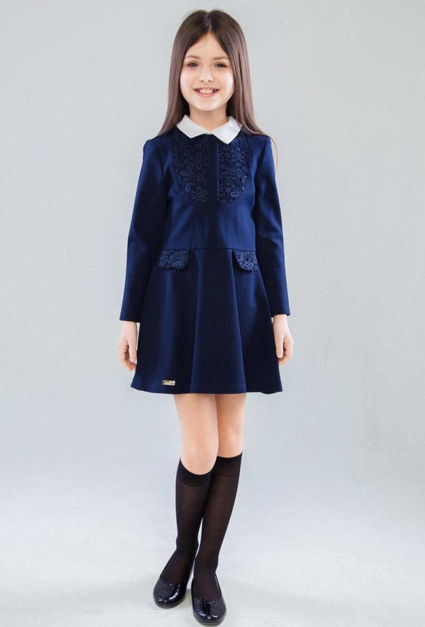 Шкільна форма для дівчаток Енріка Плаття Синій Suzie Україна 10 років, 140, Синій